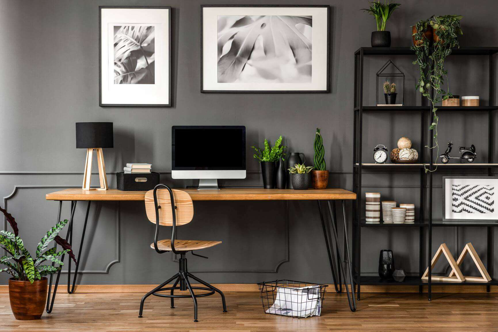 5 ways to make your home office not look too 'officey'