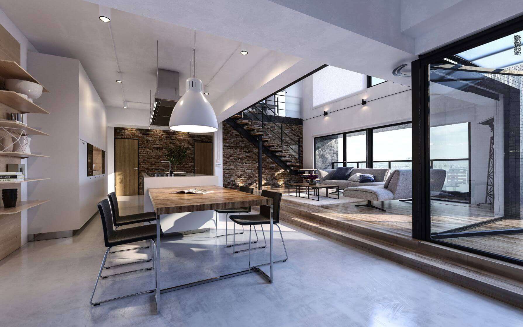 The Benefits of Open Plan Living