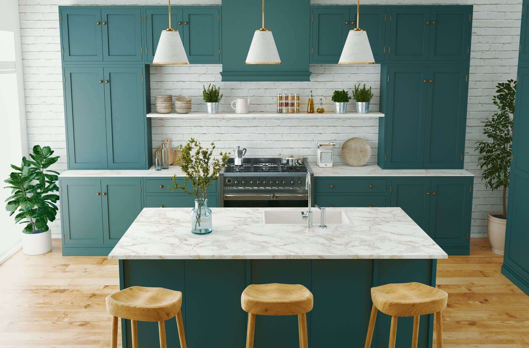 Five ways to make your old kitchen shine again